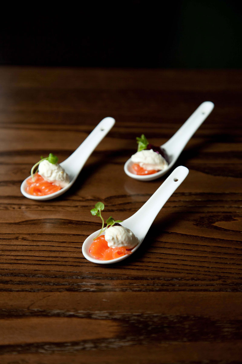 Canapes on spoons recipes 28 images 7 wedding dessert for Carrelage faience 11x11 blanc
